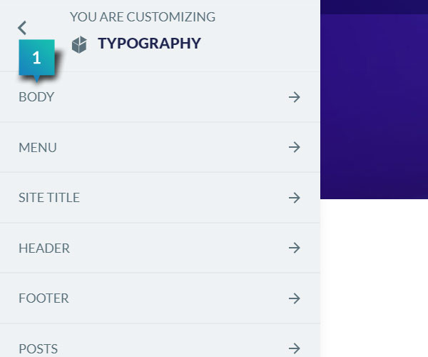 Typography - Body