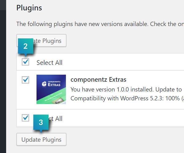 Update Plugins